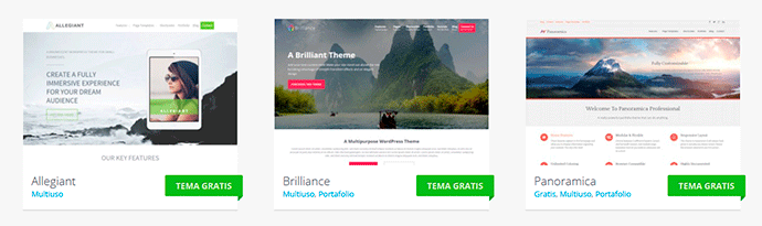 multiproposito WordPress themes