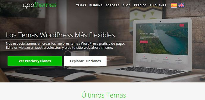 Wordpress plantillas CPO Themes