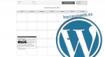 crear calendario de eventos wordpress