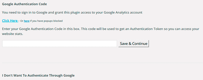Google Analytics en WordPress