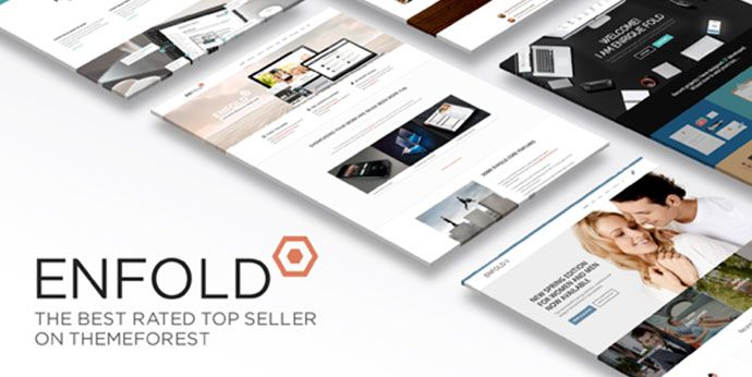 Plantilla Enfold Theme para WordPress