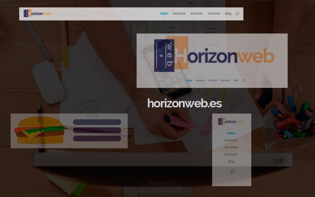 diseños de headers con wordpress y divi