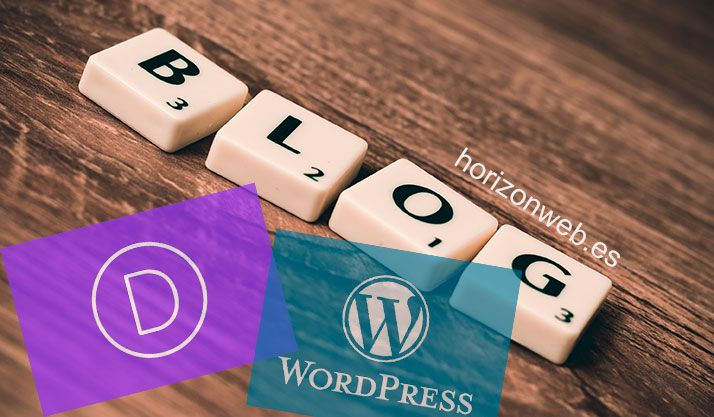 Cómo crear un blog con Divi y WordPress