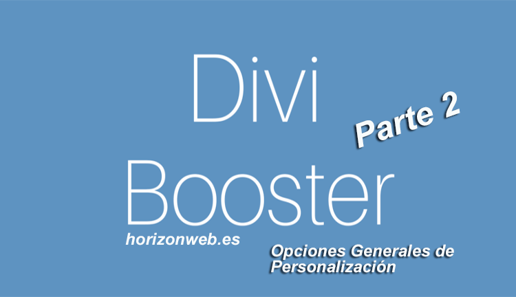 Plugin Divi Booster parte 2