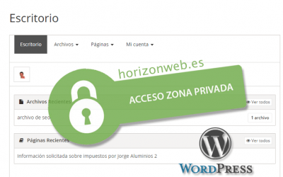 Cómo crear una zona privada e independiente para cada cliente en mi web con WordPress + vídeo