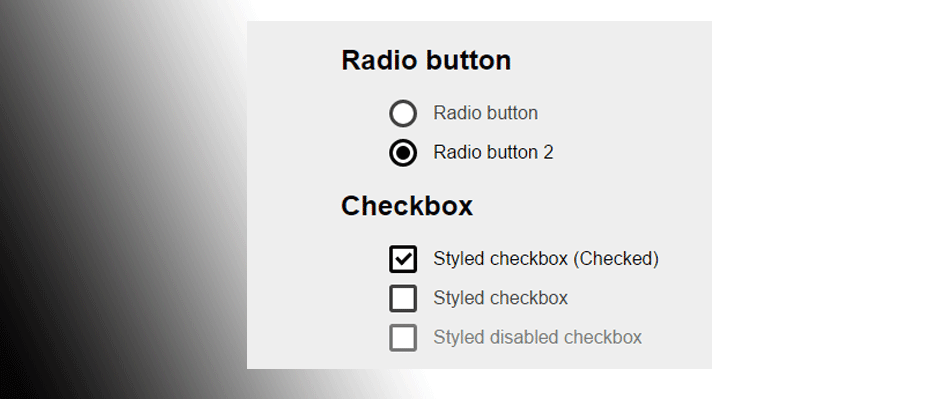 diferencia entre usar radio button y checkbox rgpd