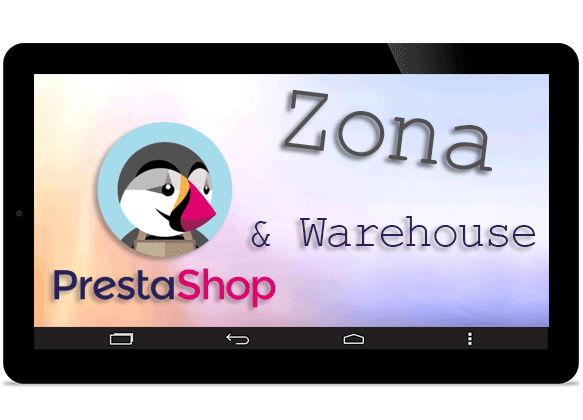 zona prestashop y warehouse